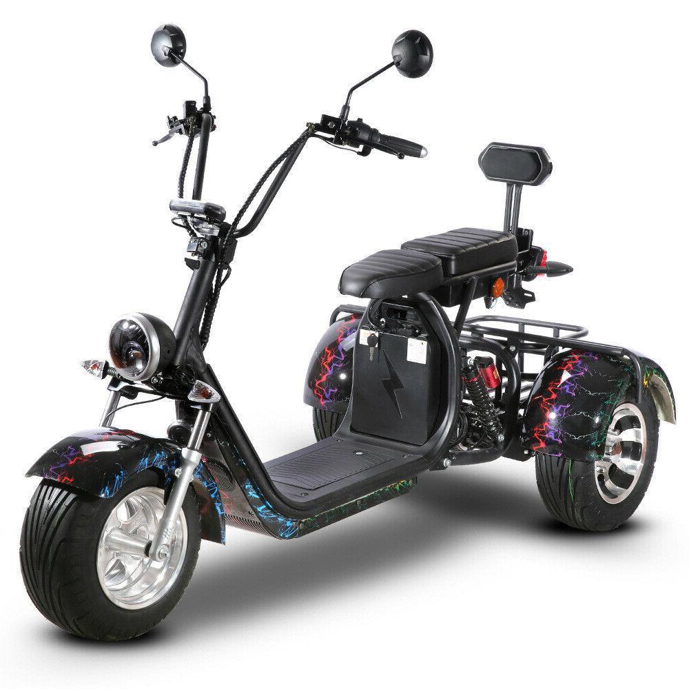 Black Electric 3 wheel