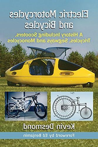 electric motorcycles bicycles history including scooters tri