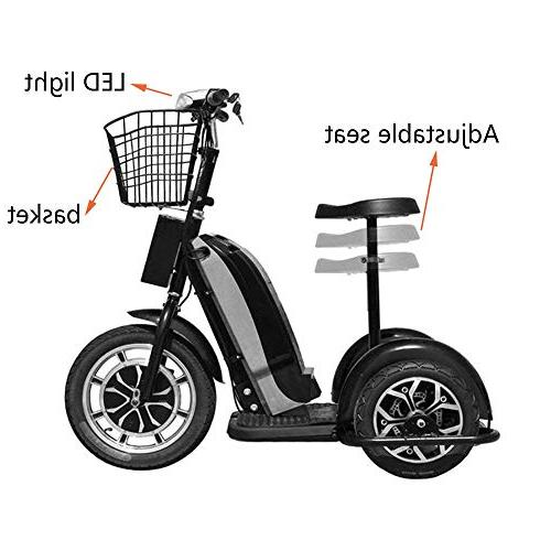 Rugged 800w Mobility Led Seat Basket