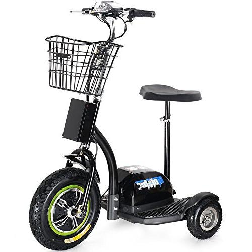 Rugged Electric 48v 500w Light Tricycle for Men and Women Adjustable