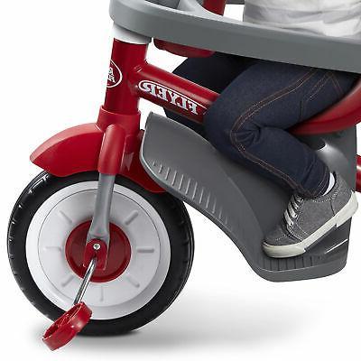 Radio 4-in-1 Stroll Infant Toddler Stroller Red