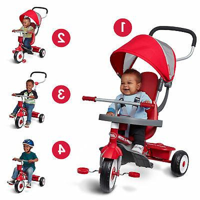 Radio Flyer 4-in-1 Infant Red