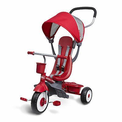 Radio Flyer EZ 4-in-1 Stroll Infant Toddler Stroller