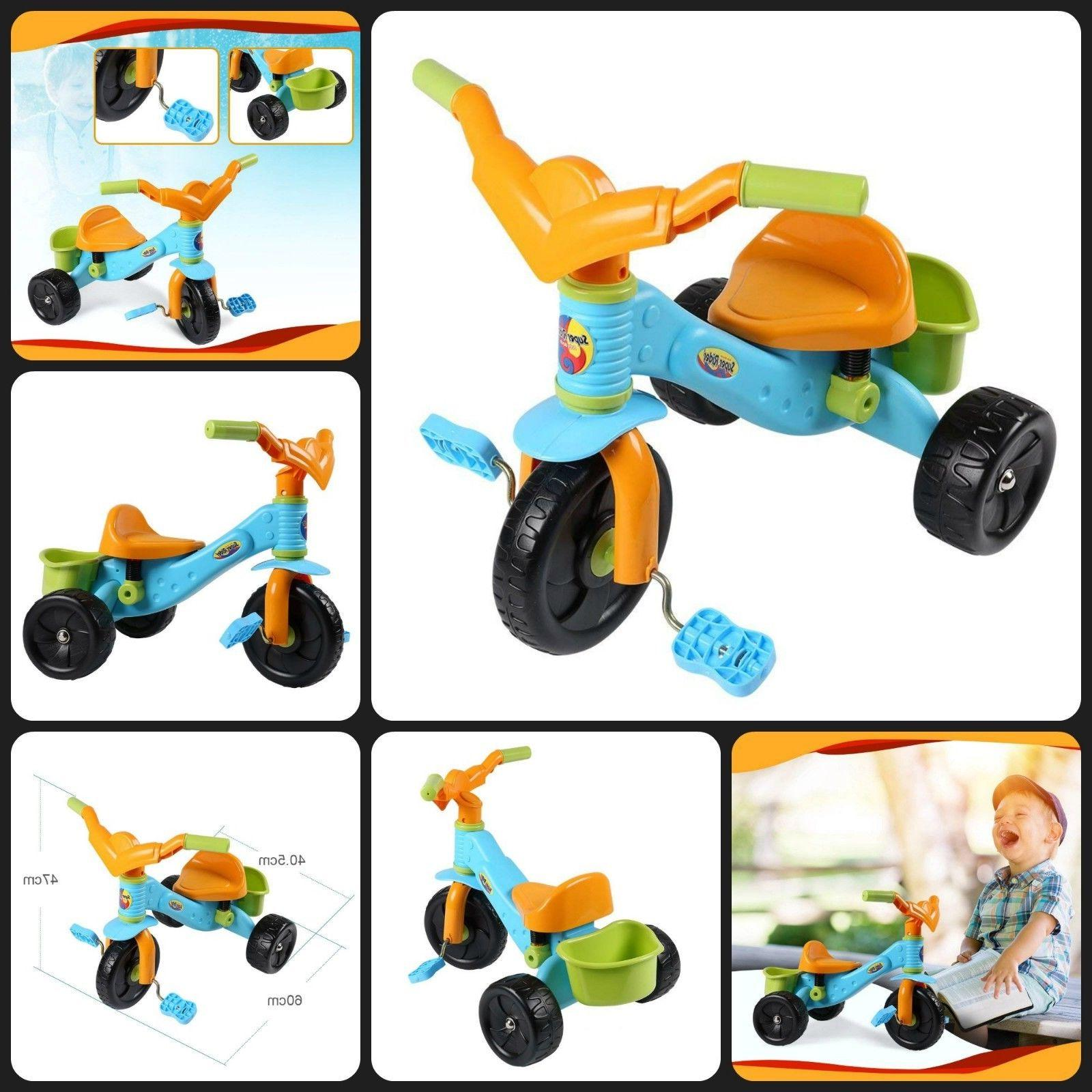 Virhuck Kids First Trikes for Children 3 Pedal Bike for 2 Old Multi-Coloured, Maximum KG