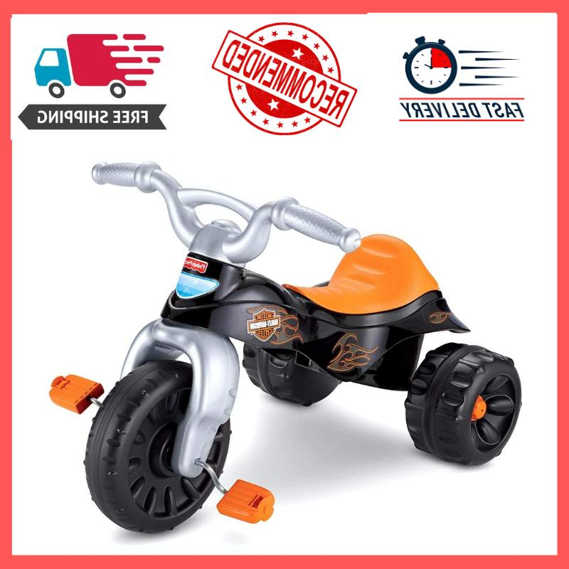 Fisher-Price Harley-Davidson Motorcycles Tough Trike Tricycl