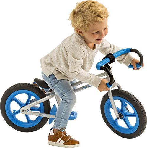 Chillafish Fixie Styled Balance Bike Footrest, Footbrake Airless