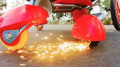 Razor Flash Drifting Ride-On Red