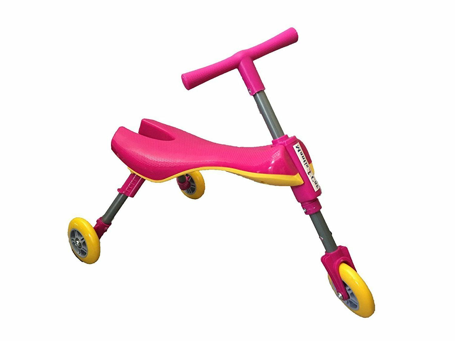 foldable indoor toddlers glide tricycle