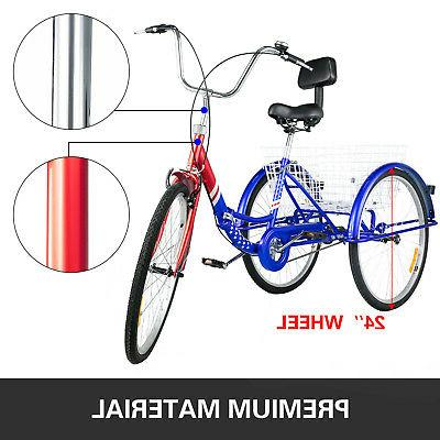 Foldable Tricycle 26'' Speed Folding Trike