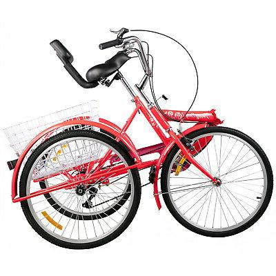 Foldable Wheels Adult Tricycle 7-Speed 3