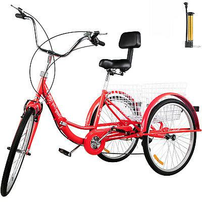 foldable tricycle adult 26 wheels folding adult