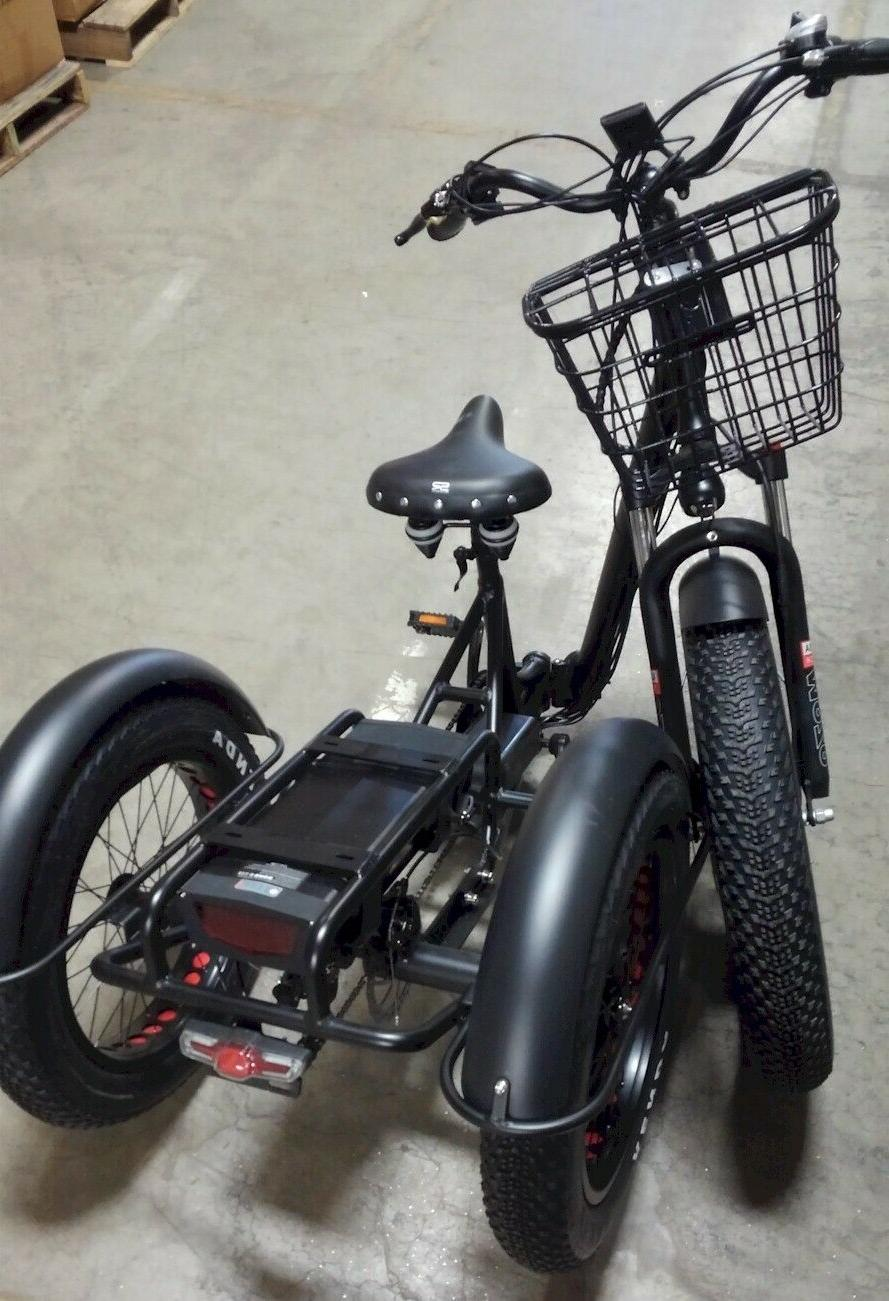 Folding Tricycle, trike, with RED