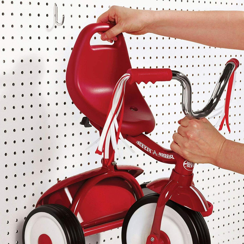 Folding Red Kids Bike Ride On Toy Garden