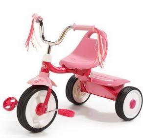 Radio Trike, Pink