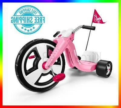 girls trike big wheels pink tricycle toddler