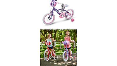 Huffy Girls Glimmer Bike 18 Inch Red or Amethyst NEW