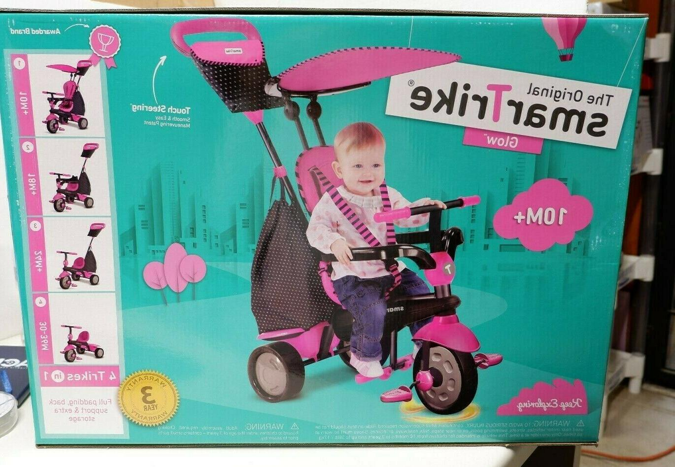Smart Tricycle Smart Trike, 10-36 Months Pink