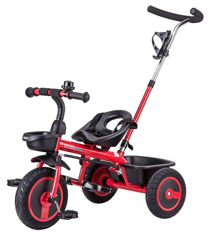 high bounce tall tricycle trike for kids