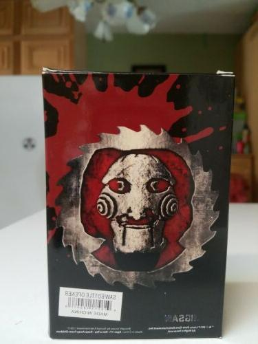 Horror Collectibles| Jigsaw Puppet Bottle Scary