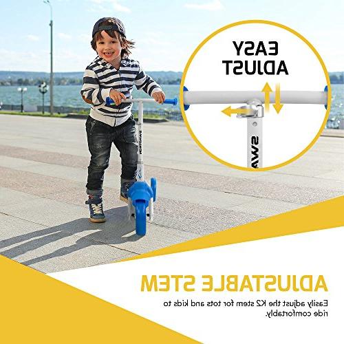 K2 3 Kick Scooter Balance 2-in-1 for 5 Year Old Boy Girl In