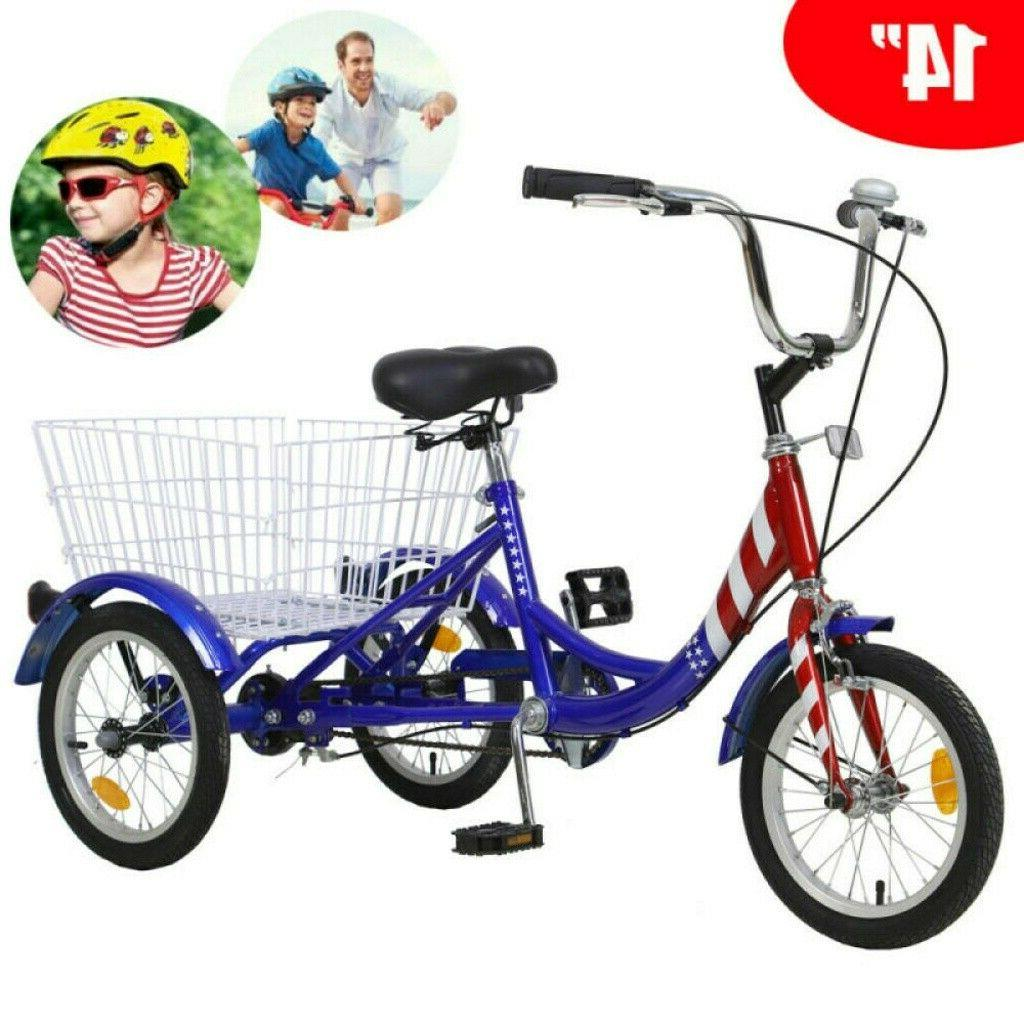 Kid 14/16inch 20inch 24/26inch Tricycle 1/7Speed