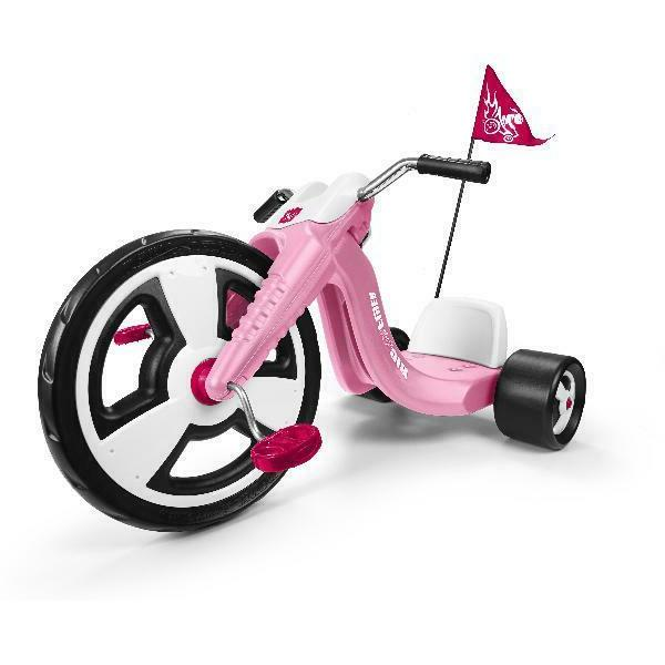 Kids Big Wheel Chopper Tricycle Sport Wheeler Toy Gift Adjustable Seat