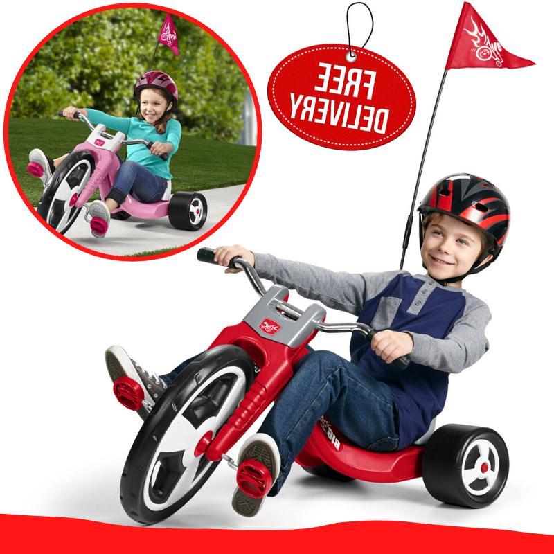 kids big wheel trike chopper tricycle sport