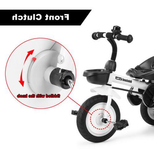 Kids Stroller Trike Bike +Push Handle For Old