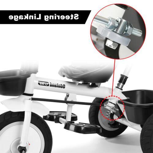 Kids Tricycle Stroller Bike +Push Handle 1-5 Old
