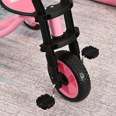 Kids 3 Wheel Toddler for Boys Girls Pink