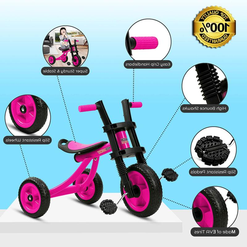 High - Extra Wheel Kids Trike, For Toddlers