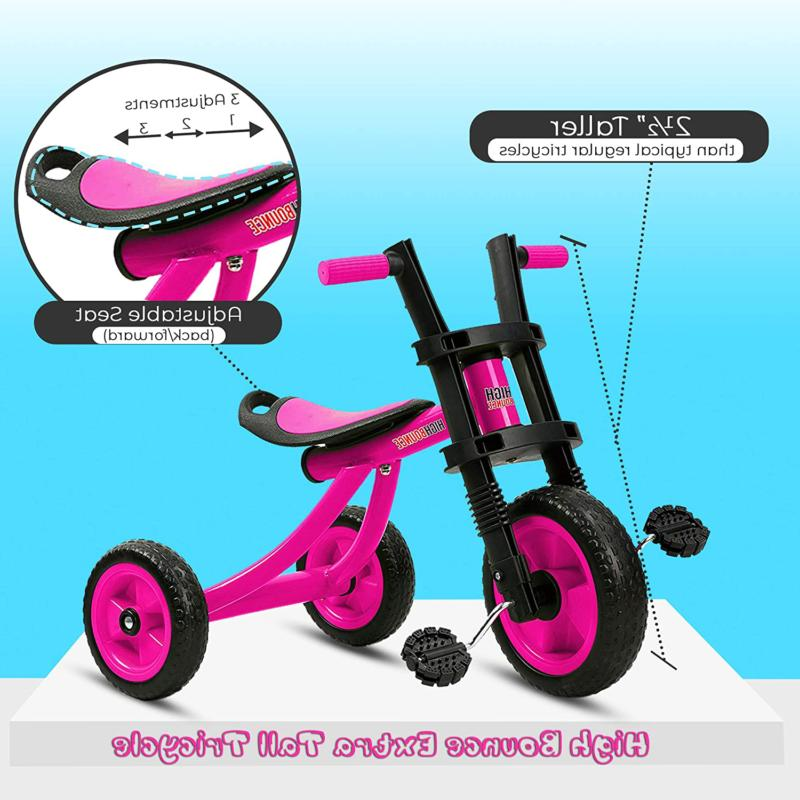 High Tricycle - Tall Wheel Kids Toddlers