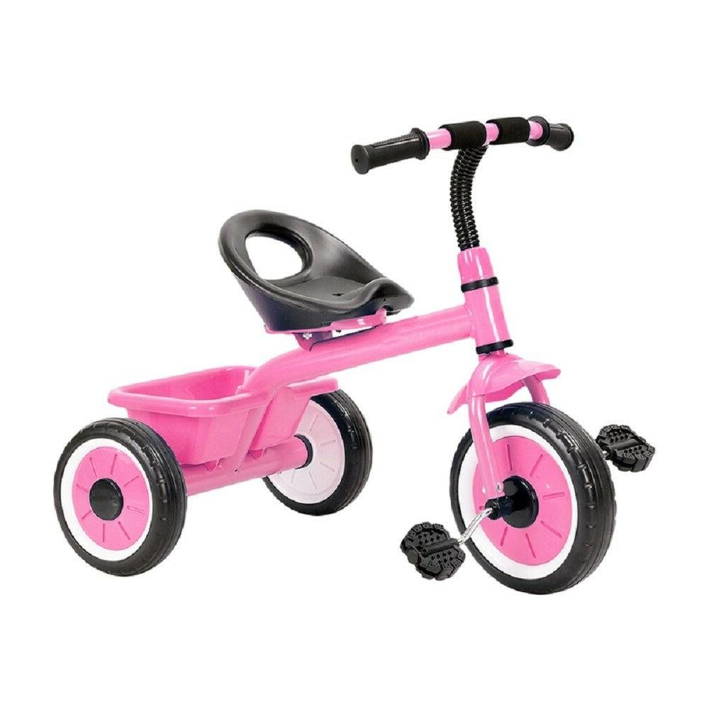 kids tricycle with rear toy storage 10