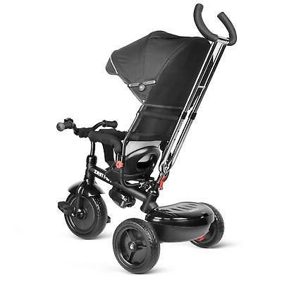Toddler Tricycle with Adjustable Canopy,
