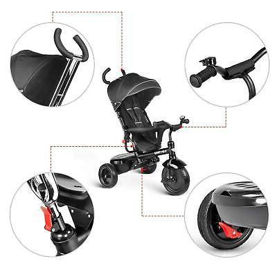 Besrey Trike Toddler with Adjustable Canopy, Parent
