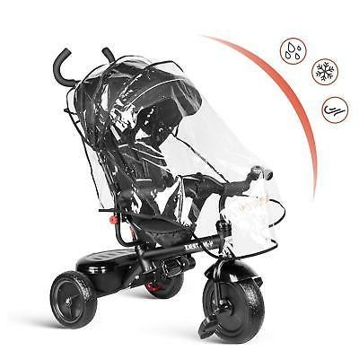 Besrey Kids Toddler Tricycle with Canopy,