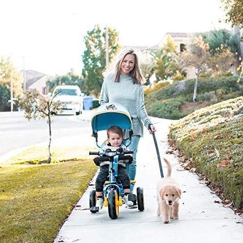 Nickelodeon KidsEmbrace Patrol Skye Push and Ride Stroller