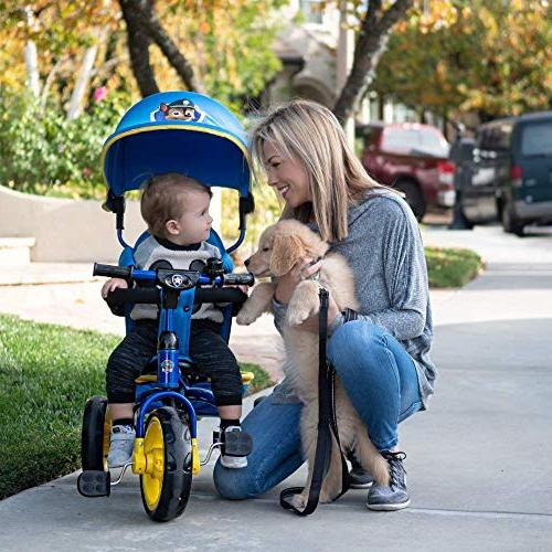 Nickelodeon KidsEmbrace Patrol Skye 4-in-1 Push Ride Stroller