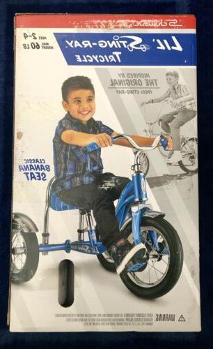 Schwinn Lil' Tricycle Blue Seat -