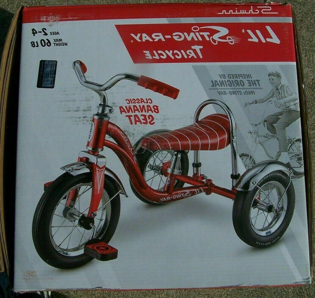 SCHWINN STING-RAY TRICYCLE,