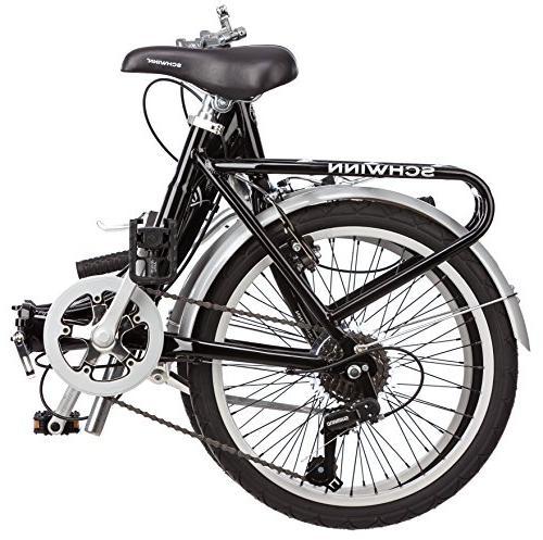 Schwinn Loop Adult Bicycle, 20-Inch Black