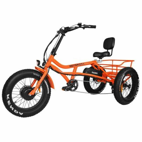 Addmotor 750W Beach Cruiser Semi-Recumbent Bike