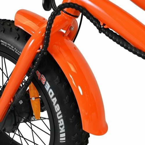 "Shimano 750W 20"" M-360 Electric Cruiser Bike"