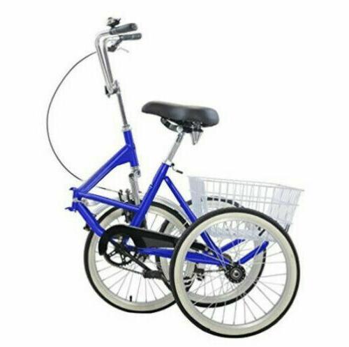 "Mantis Tricycle Bike Portable Tricycle 20"" Wheels"