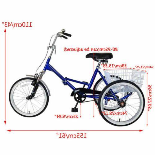 Mantis Tri-Rad Adult Fold Tricycle