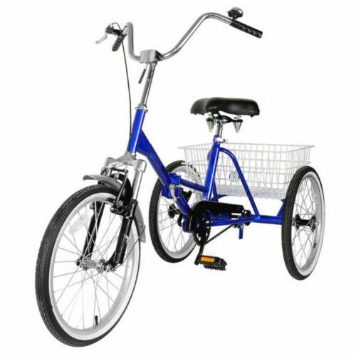 """Mantis Adult Tricycle Bike Tricycle 20"""" Wheels"""