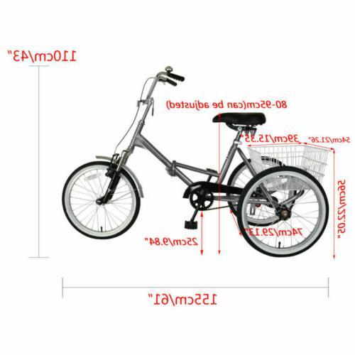 Mantis Tricycle Bike Bicycle Portable