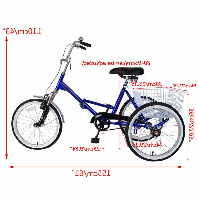 Mantis Tricycle Bike Bicycle Portable Tricycle