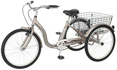 meridian 26 single speed tricycle