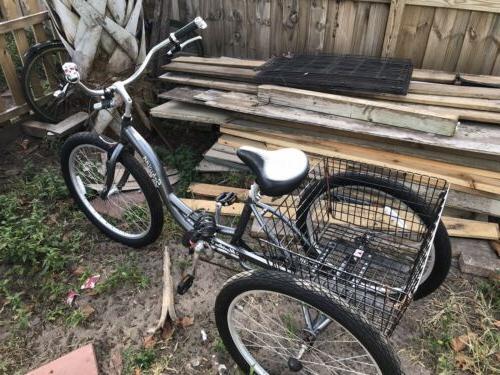 meridian 26 tricycle bicycle
